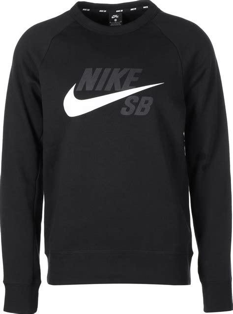nike sb sweater nike sb icon sweater black white