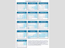 Calendario de la Universidad de Zaragoza 20172018