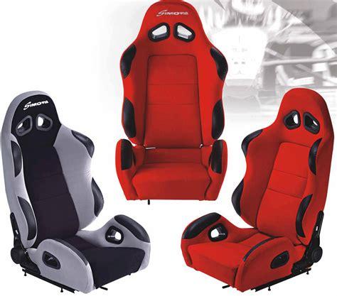 siege baquet avec airbag admission dynamique com sièges baquets simota