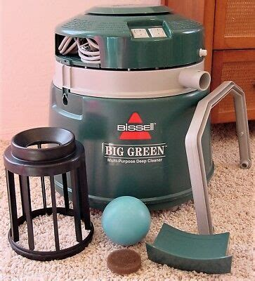 bissell big green machine canister carpet deep cleaner