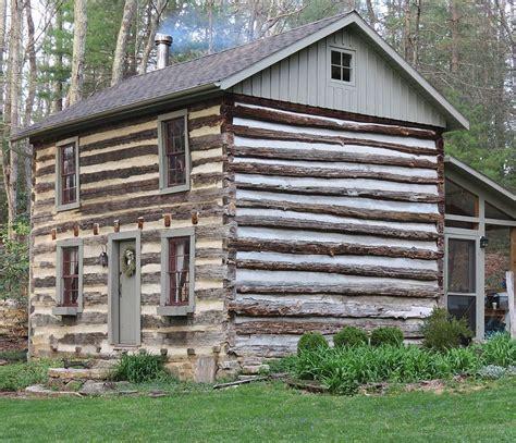 Log Cabin Rentals by Two Story Log Cabin Rental Virginia S Blue Ridge
