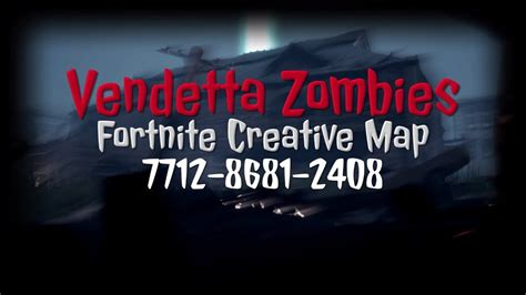Get Vendetta Zombies Creative Map New Cinematic Trailer 7712 8681 2408 Pics