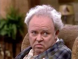 Image result for pictures of archie bunker