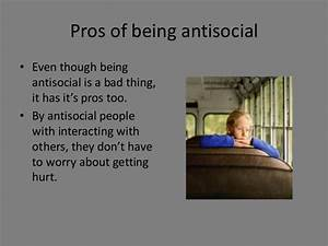 Antisocial people