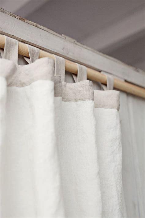 best 25 white linen curtains ideas on white
