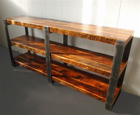 wood shelving reclaimed wood modified llc