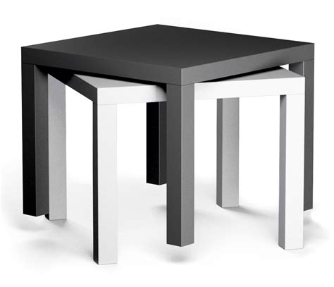 black table l cad and bim object lack side table black and white ikea