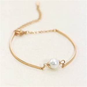 Aliexpress.com : Buy 2015 Women Girl Simple Handmade Pearl ...
