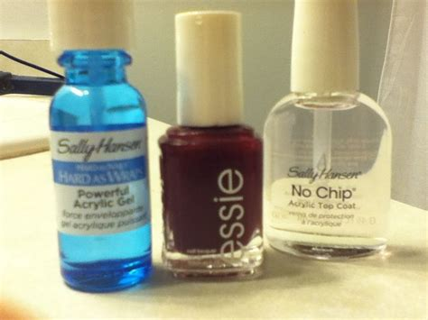 Shellac At Home! 1. Sally Hansen Hard As Wraps Powerful
