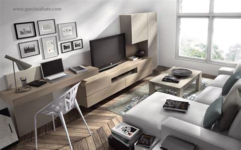 escritorio en el salon comedor ideas  el hogar