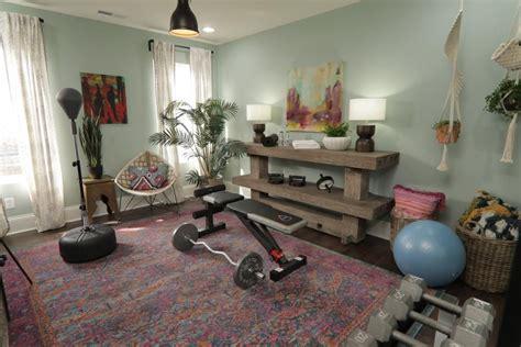 hgtv mina starsiak bones rooms yoga