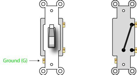 how a 2 way switch works single pole single throw or