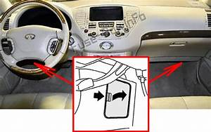 Fuse Box Diagram Infiniti Q45  F50  2001