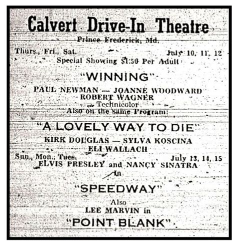 Check spelling or type a new query. Calvert Drive-In in Prince Frederick, MD - Cinema Treasures