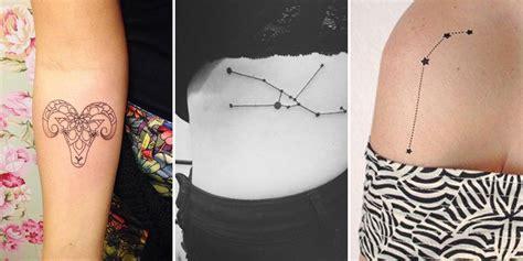 tatouage signe astrologique 24 tatouages pour repr 233 senter votre signe du zodiaque cosmopolitan fr