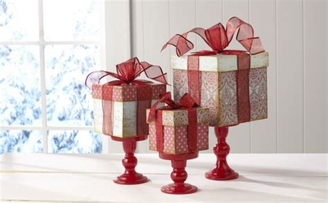 gift box centerpiece cake ideas and designs