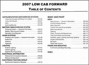 2007 Ford Low Cab Forward Repair Shop Manual Original