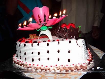 Cake Birthday Happy Wallpapers Birth Cakes Desktop