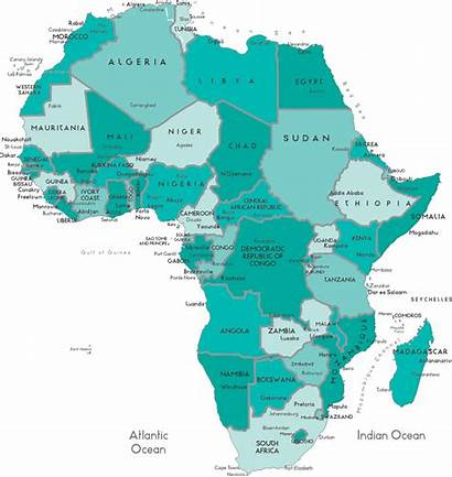 Africa Map Safari Tours South African Countries