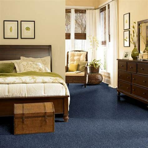 antirutsch für teppich teppichboden schlafzimmer blau haus deko ideen