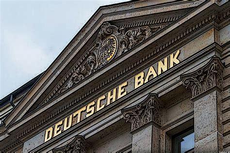 deutsche bank   small  matter realmoney