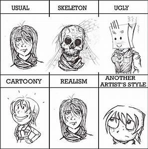 Drawing Style meme by enojado on DeviantArt