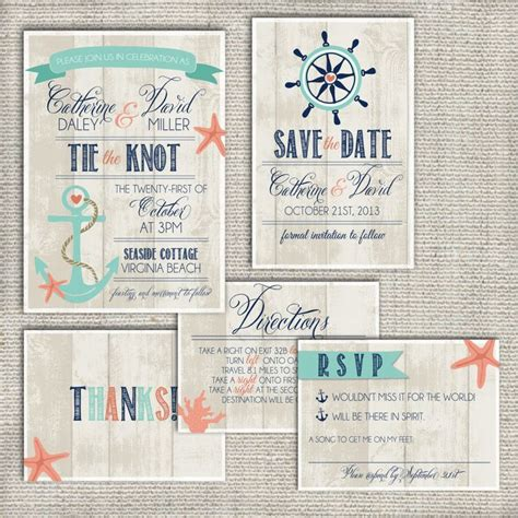 wedding invitation suite set deposit by splashofsilver on
