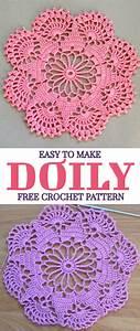 Easy To Make Doily Free Crochet Pattern