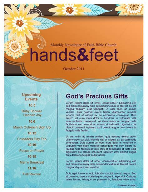 fall designs  decorations church newsletter