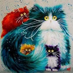 cat painting 25 best ideas about cat on black cat