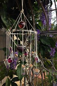5 DIY Wind Chimes Made Out of Old Bottles -Room & Bath
