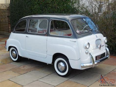 Fiat Multipla For Sale by Fiat 600d Multipla Lhd 1963 49k Warranted 2