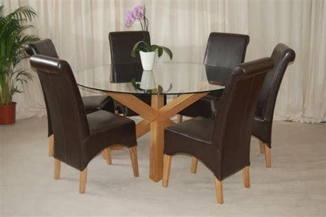 20 Ideas Of 6 Seater Round Dining Tables