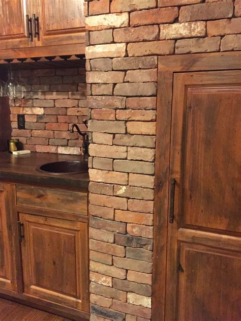 brick veneer 1000 images about reclaimed thin brick projects other