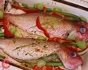 FRIED FISH, RED SNAPPER