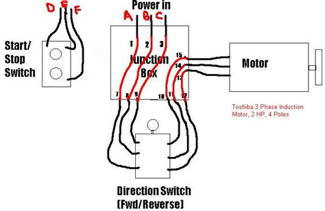 3 Wiring Strat by 3 Phase Wiring Question Start Stop Switch The Home