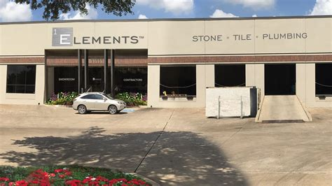 elements tile and plumbing showroom provides a