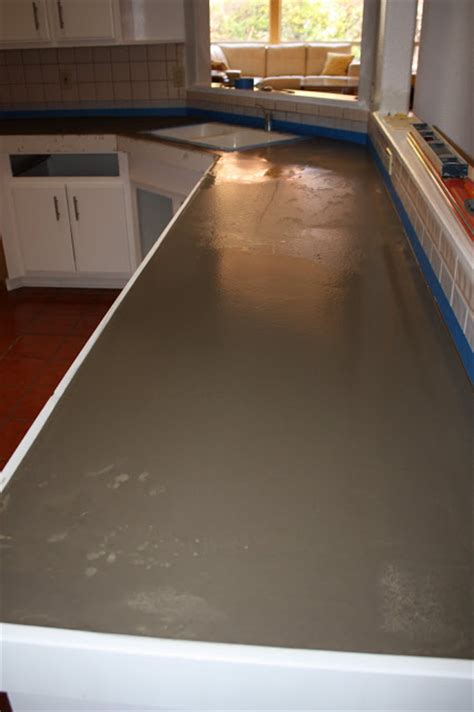 Kitchen Countertops That Fit Existing by Concrete Countertops Existing Countertops Faster And