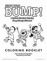 Bump Coloring Booklet Pump Short Illustration Dubar Scott sketch template