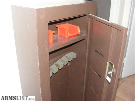 armslist for sale gun locker gun safe homak wall unit