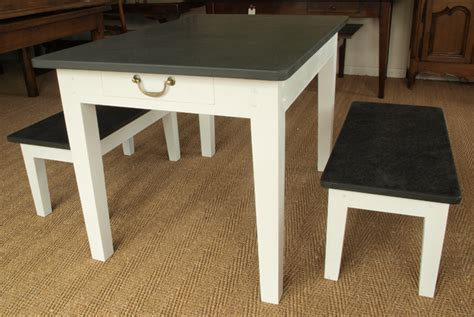 slate kitchen table customers gallery of slate top tables