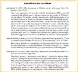 APA Format Annotated Bibliography 6th Edition
