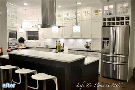 what to do above kitchen cabinets a kitchen do si don t better after 2001