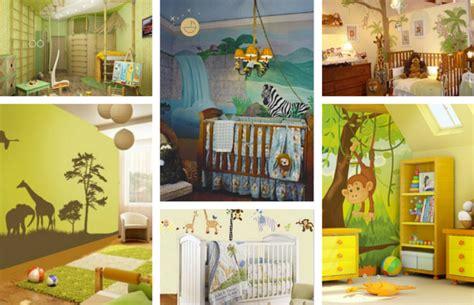 chambre bebe savane idées pour la chambre bébé garçon