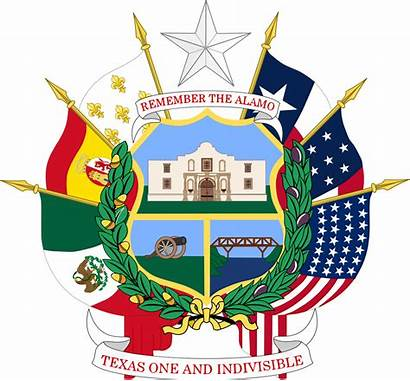Texas Bandera Escudo Seal State Reverse Banderas