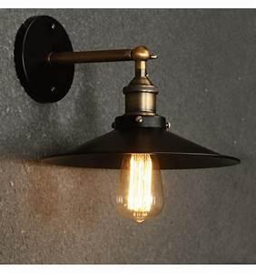 Applique Metal Noir : applique vintage noire et bronze scopa kosilum ~ Teatrodelosmanantiales.com Idées de Décoration