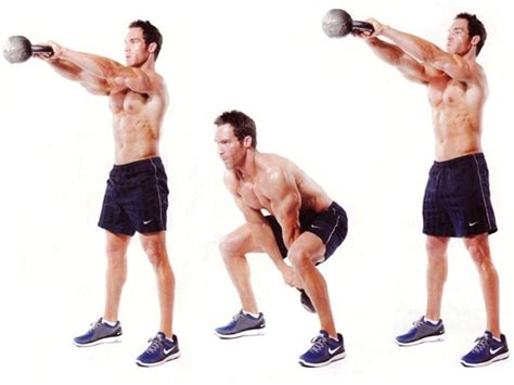 kettlebell swing exercises arm single swings kettle bell exercise kb con squat ejercicios pesa piernas rusa para chest workout workouts