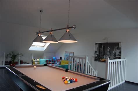 salle de jeux aménagement de combles harnois
