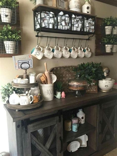 Top home coffee bar ideas in kitchen to inspire you and change the way you drink coffee! Here are brilliant coffee station ideas for creating a little coffee corner that will help you ...