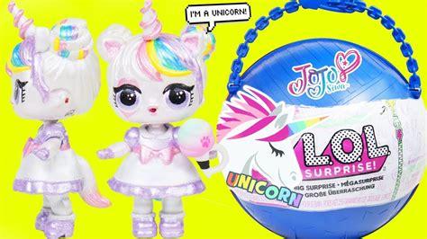 jojo siwa unicorn custom lol surprise doll big